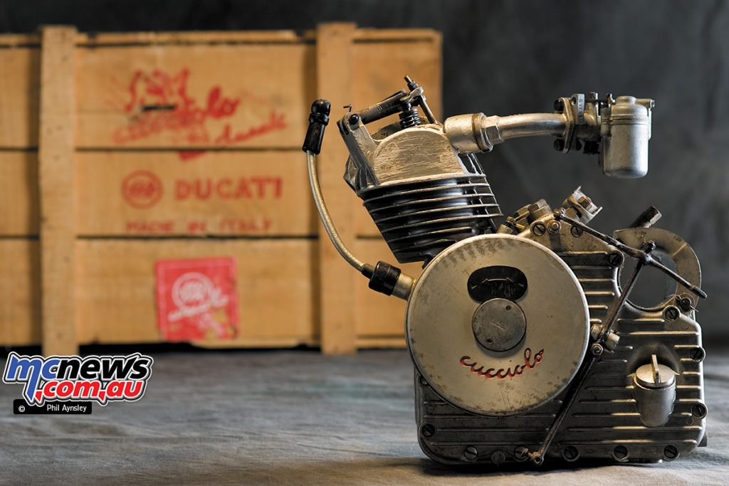 Both SIATA and Ducati produced the next version of the Cucciolo, the T2.