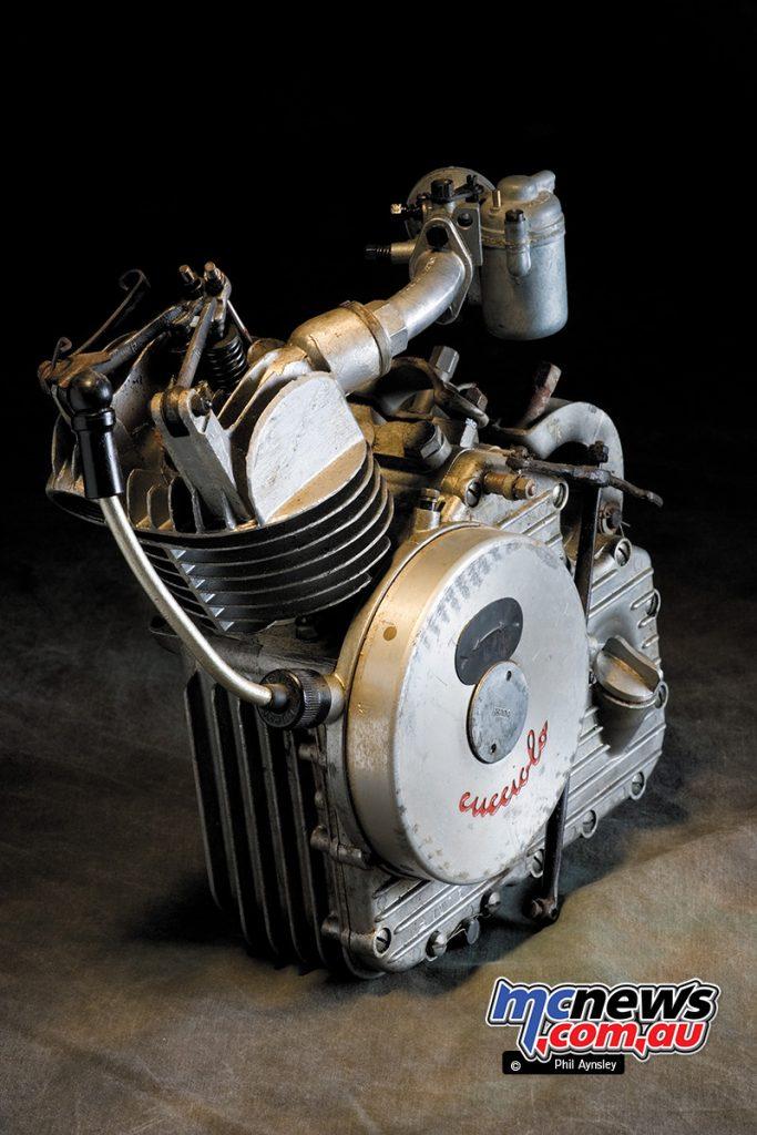 The Cucciolo T2 featured a removable barrel.