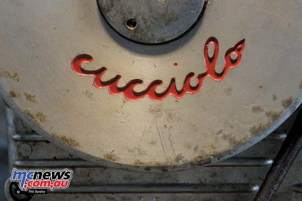 The Cucciolo T2, perhaps one of the most important Italian motors in history.