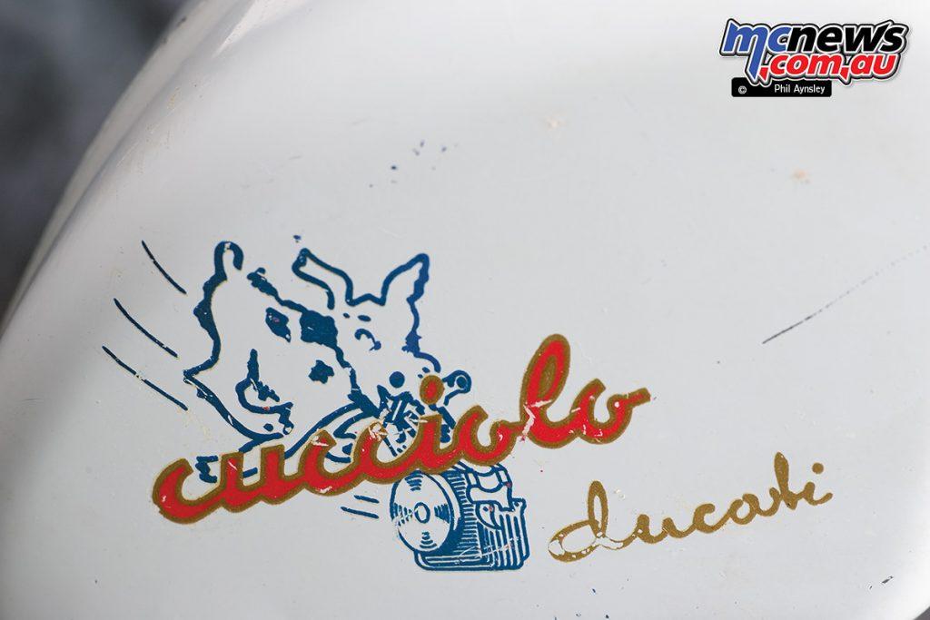 The Cucciolo T2 engine, by Ducati.