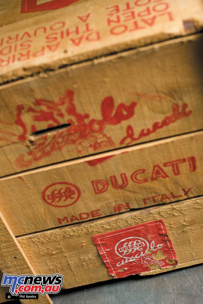 The original Cucciolo T2 crate.