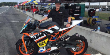 Jarred Brook reflects on MotoAmerica KTM RC Cup experience
