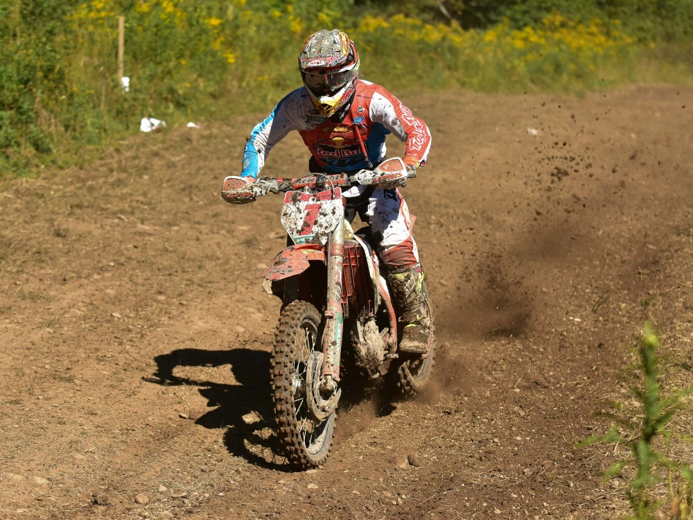 Kailub Russell extended his points lead at Unadilla
