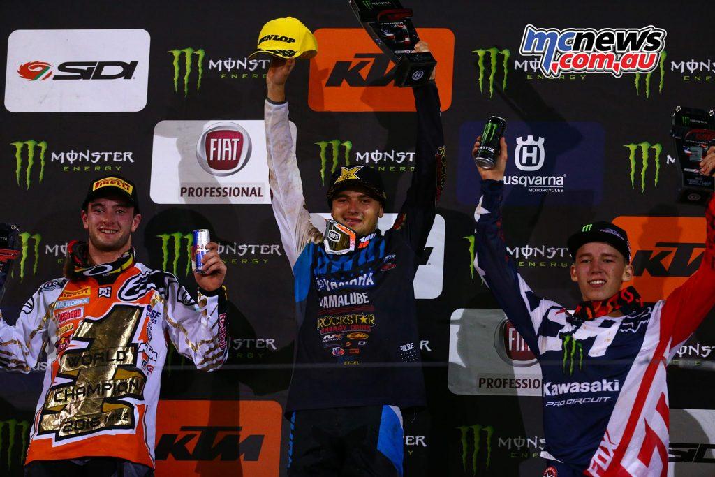 MXGP 2016 Americas - Charlotte - 250 Podium