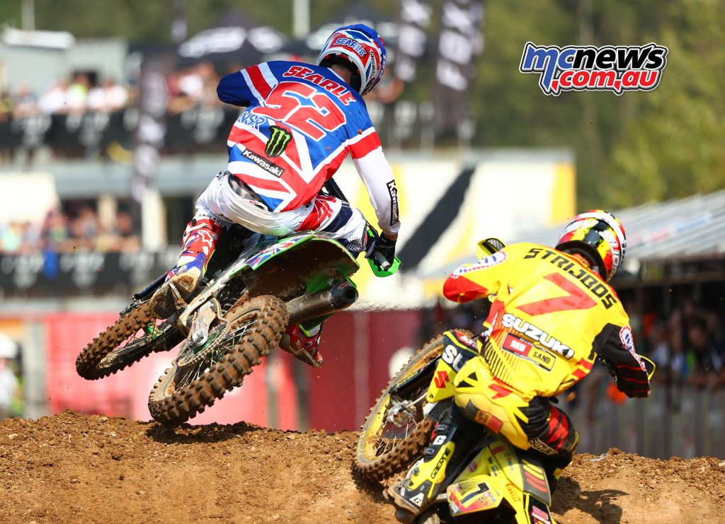 Tommy Searle and Kevin Strijbos
