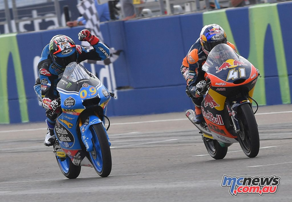 MotoGP 23016 - Rnd 14 - Aragon - Jorge Navarro and Brad Binder