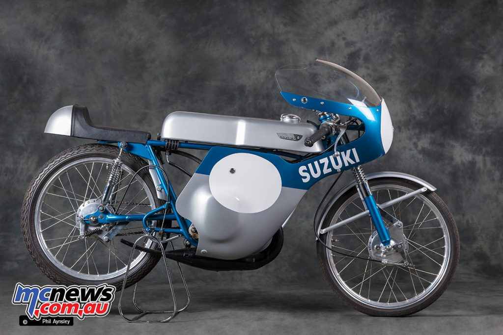 40 1967 Suzuki TR50 Production Racers were produced.