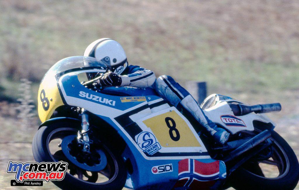 Dennis Ireland/Suzuki RG500.