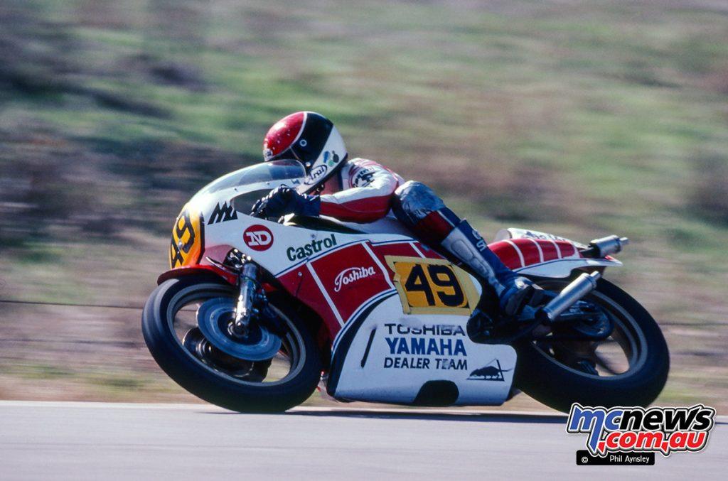 Len Willing/Yamaha TZ500.