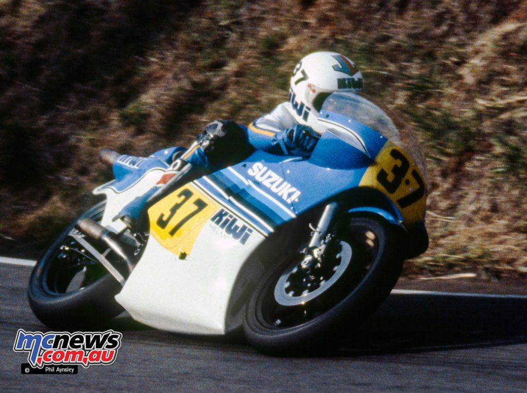 Paul Lewis/Suzuki RG500.