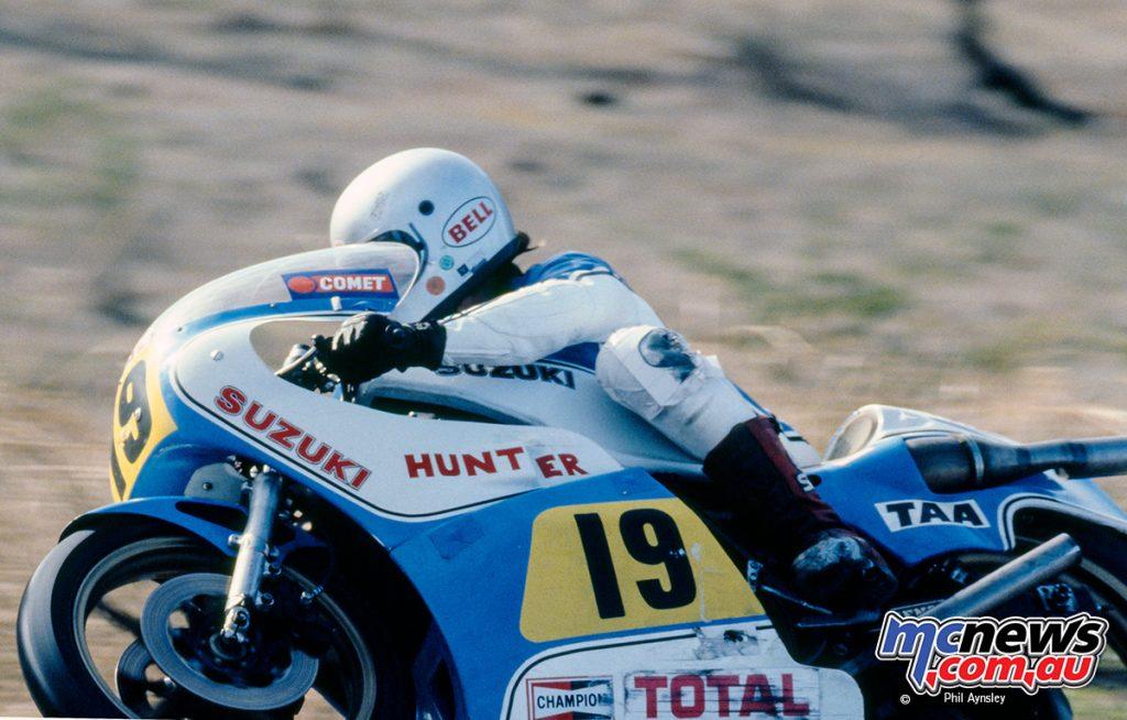 Terry Blakeway/Suzuki RG500.