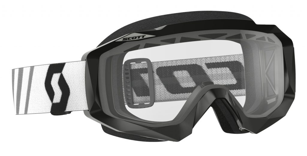 Hustle Enduro. The top of the line SCOTT Hustle goggle paired with a ventilated double ACS lens.