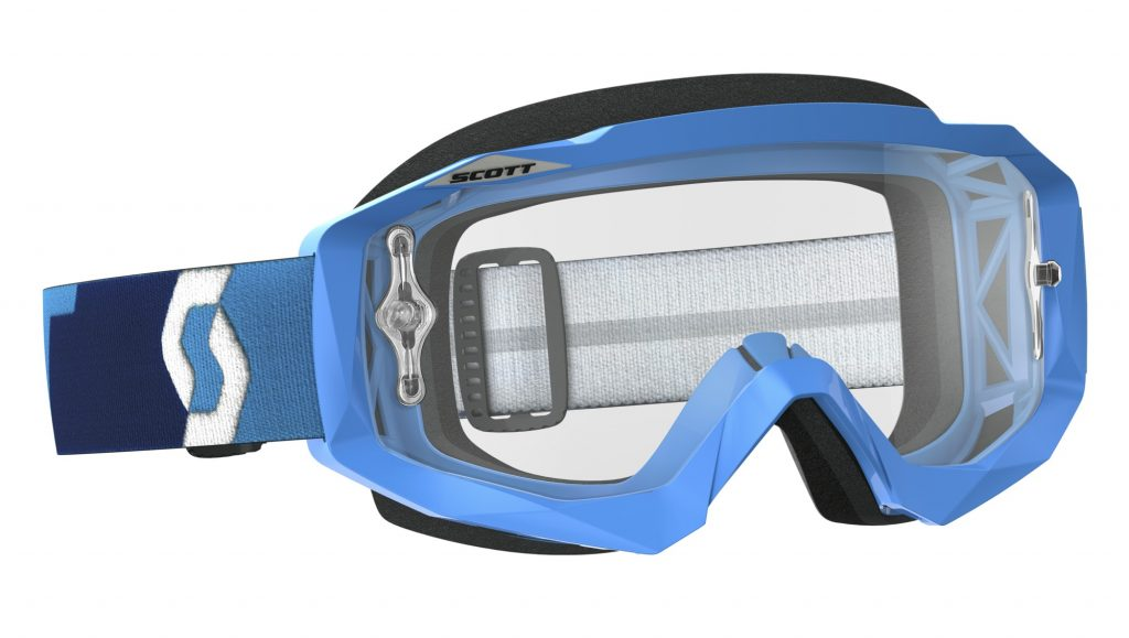 SCOTT Hustle goggle with clear lens.