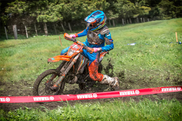 Daniel Sanders on his way to AORC victory