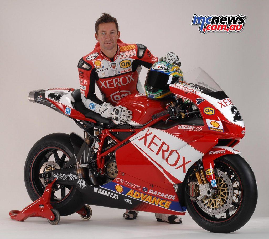 Troy Bayliss - WorldSBk 2007 - Xerox Ducati 999R