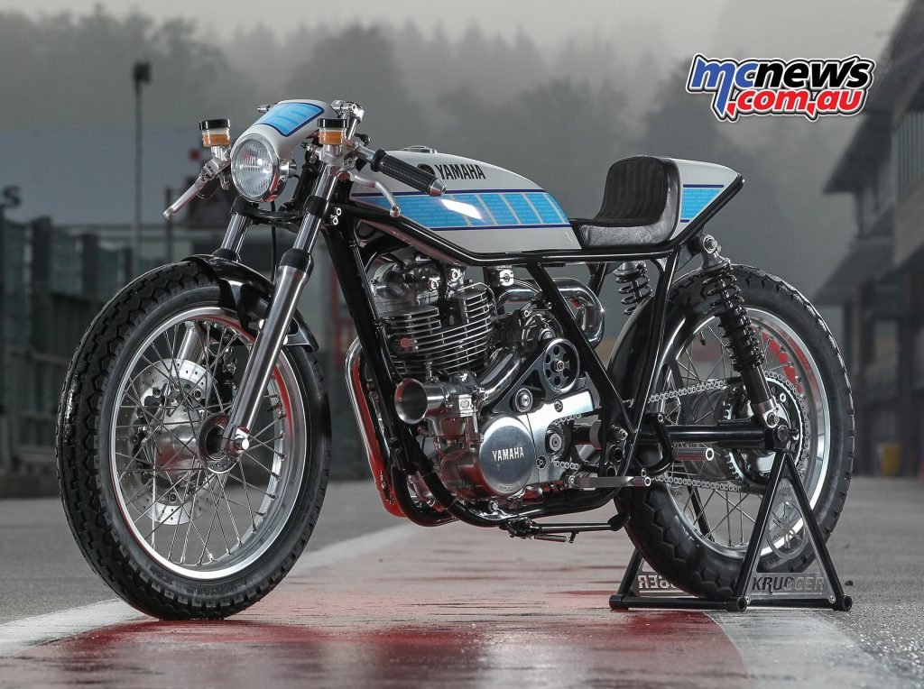 Yamaha SR400 - Krugger Yard Built Custom