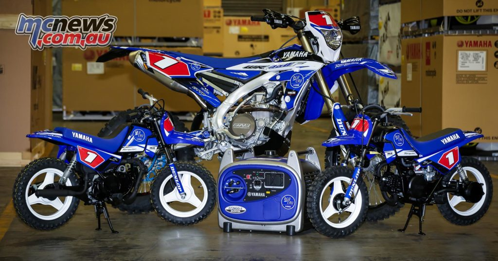 Two big selling Yamaha machines that helped Yamaha clinch #1 spot in the dirtbike market - Two legends, one big, one small. The WR450F and the PW50