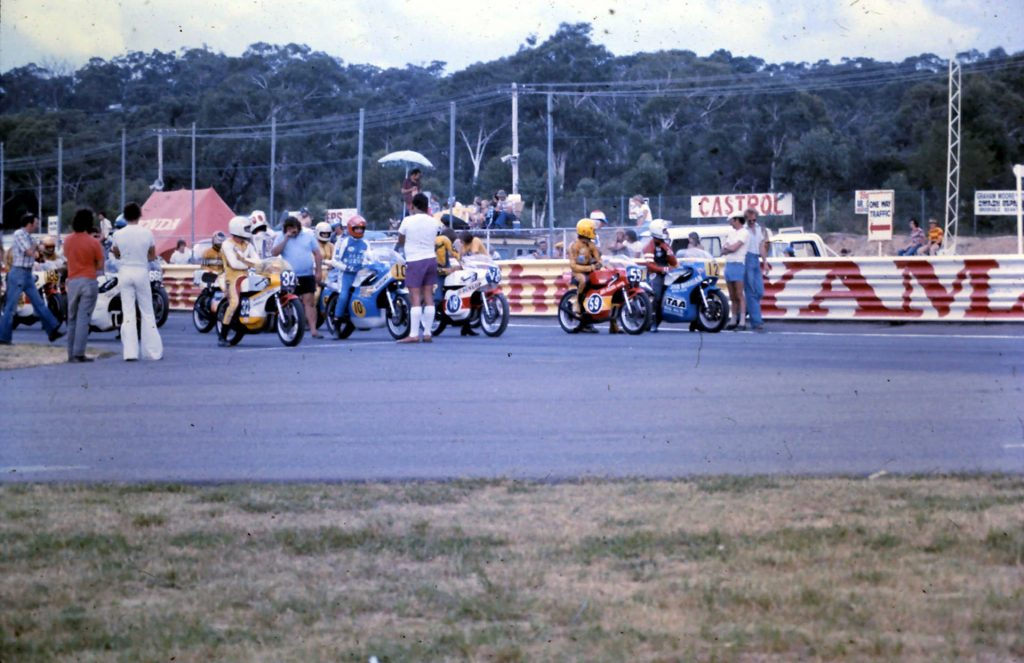 The glory days of Australian Motorcycling Road Racing in the '70s at Amaroo Park.
