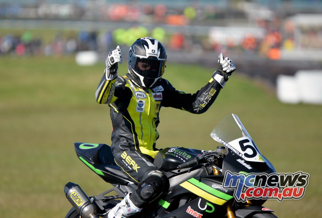 2016 Phillip Island Supersport, Callum Spriggs crowned Supersport Champion - Image Russel Colvin