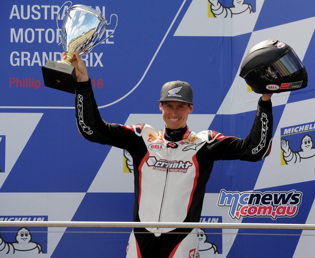 Troy Herfoss, 2016 Phillip Island Superbike Champion