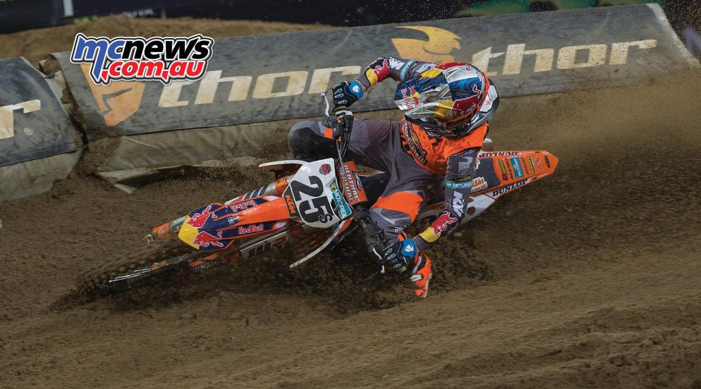 KTM's Marvin Musquin, 2016 SMX Cup
