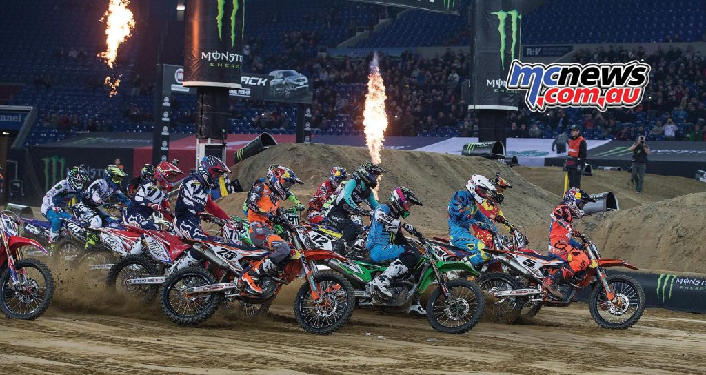2017 SMX Cup – Riders Cup, Vetlins-Arena, Gelsenkirchen Germany