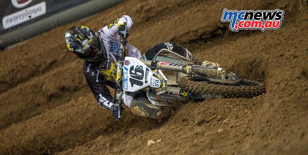 Husqvarna's Zach Osborne – SMX Riders' Cup 2016