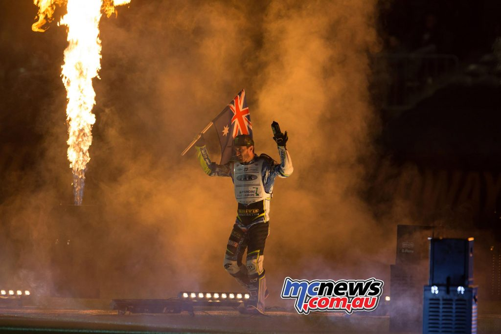 2016 Speedway GP Melbourne - Chris Holder
