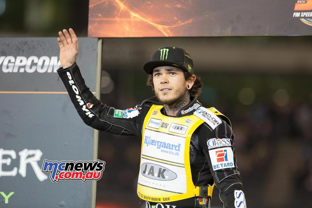 Tai Woffinden took second overall for Round 11.