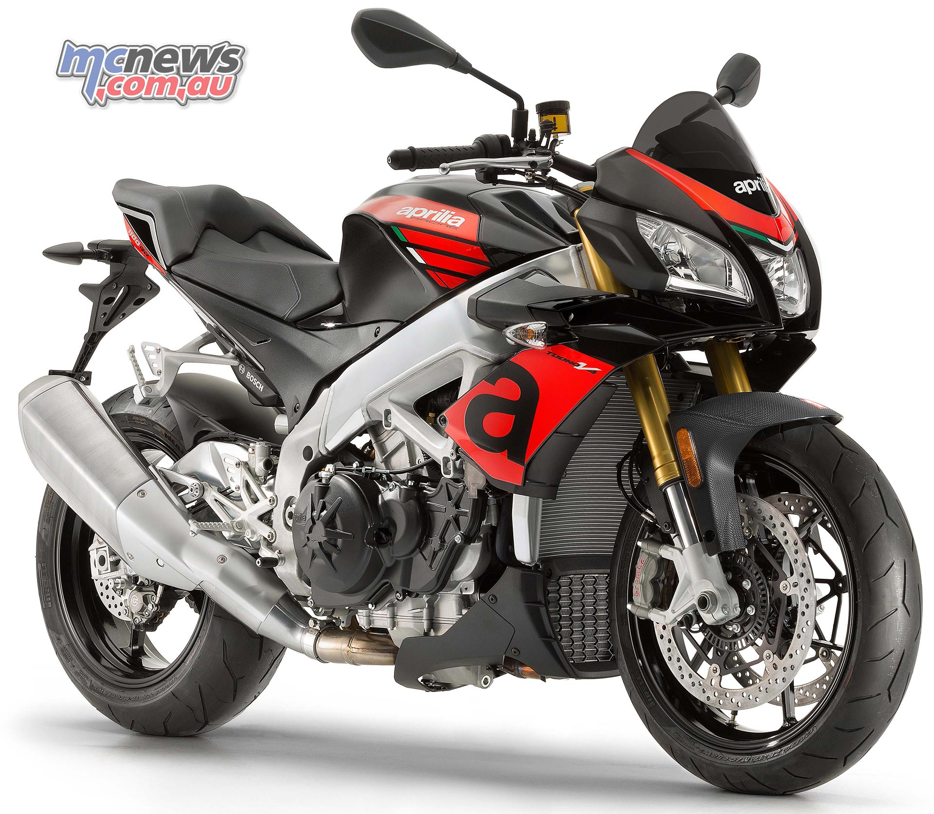 2017 Aprilia Tuono V4 1100 Rr And Tuono Factory Motorcycle News Sport And Reviews