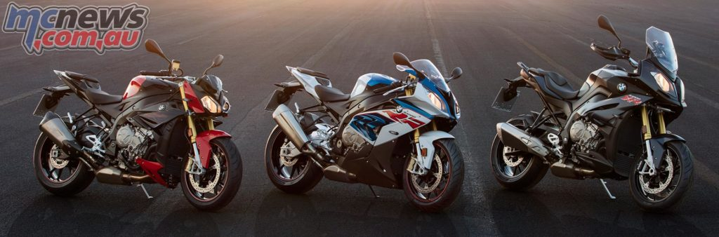 2017 BMW S 1000 R - S 1000 RR and S 1000 XR
