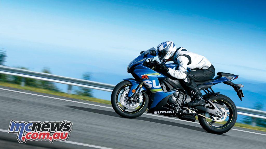 2017 Suzuki GSX-R750 - Metallic Triton Blue