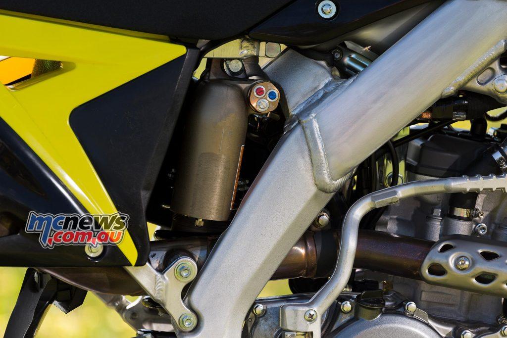 2017 Suzuki RM-Z250 - KYB rear shock, compression, damping, pre-load adjustable
