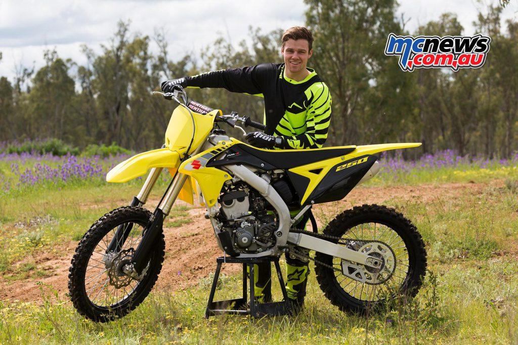 2017 Suzuki RM-Z250 - Todd Jarratt