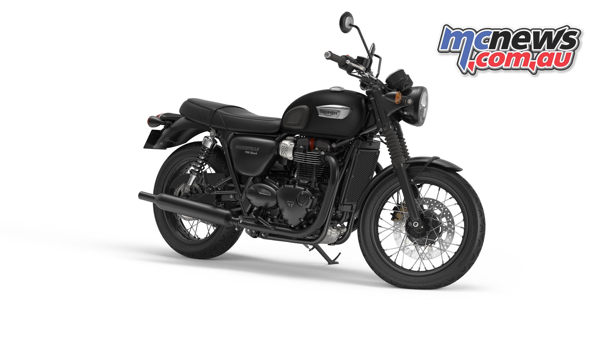 New 2017 Triumph T100 And T100 Black Mcnews Com Au
