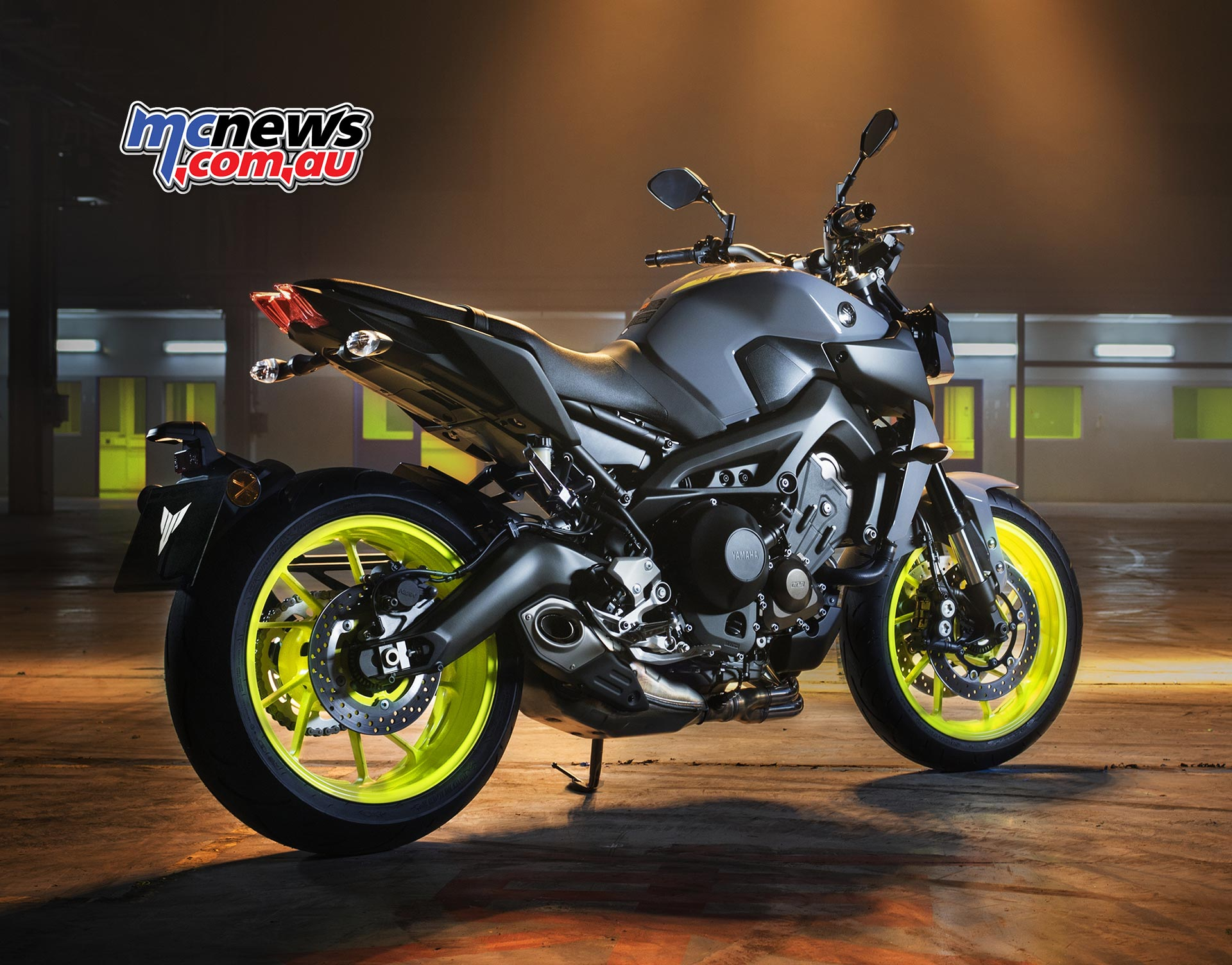 Led Lights For Motorcycle >> Yamaha MT-09 updated for 2017 | MCNews.com.au