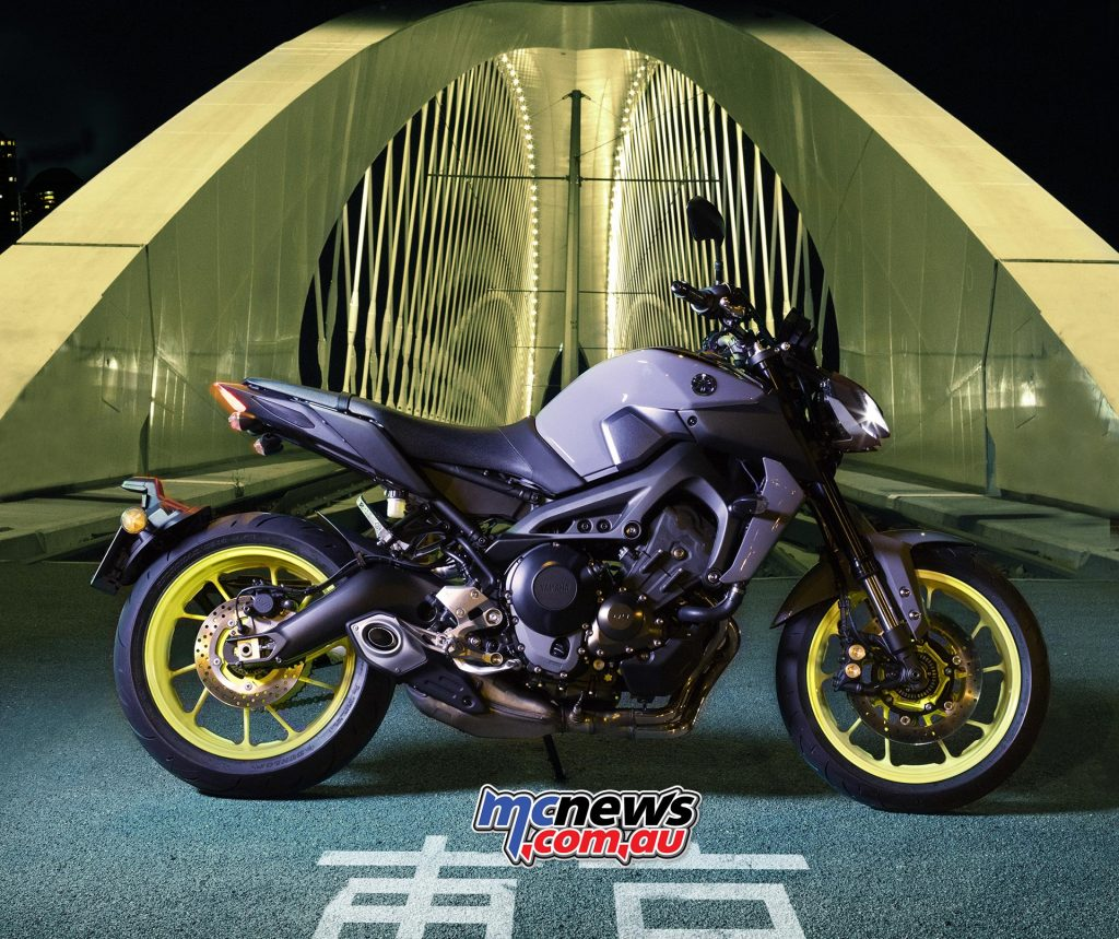Yamaha's scintillatingly exciting MT-09 was up by 15.5 per cent with 799 of them finding new Australian homes in 2017, but overall Yamaha's road bike sales were down a puzzling 28.4 per cent