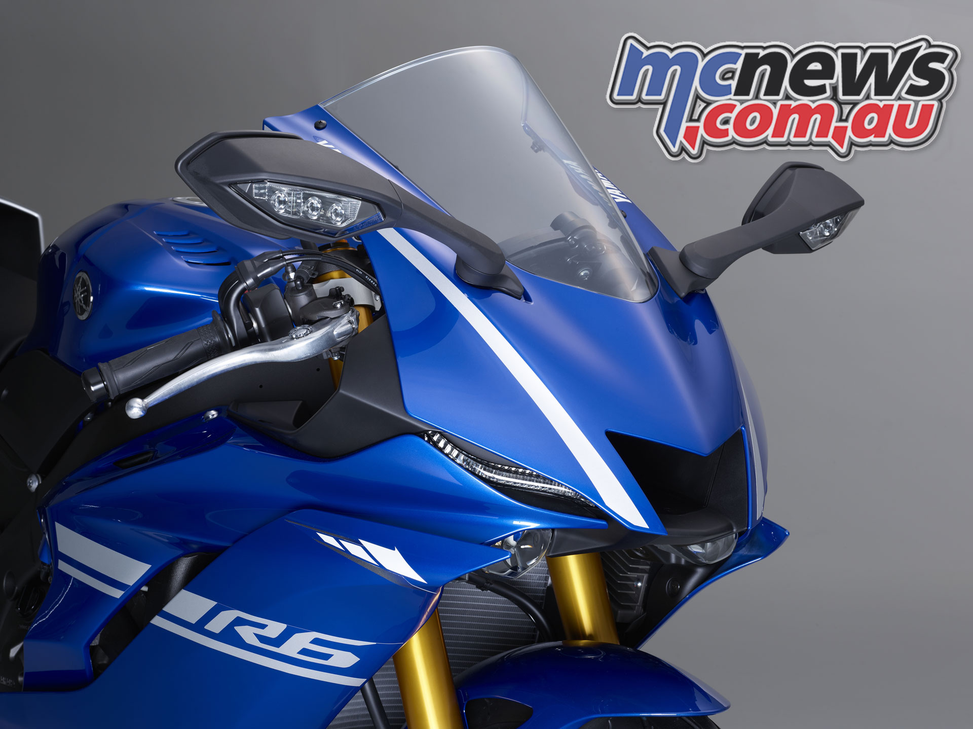 2017 Yamaha YZF-R6, with R1 inspired front fairing.