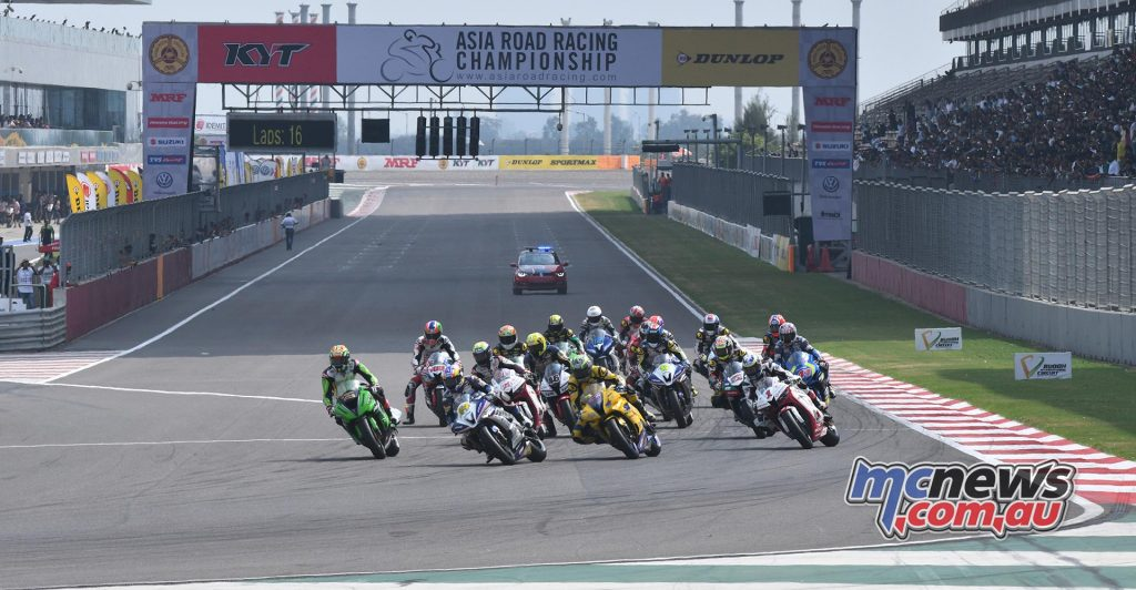 2016 Asian Road Racing Championships Supersport race in India