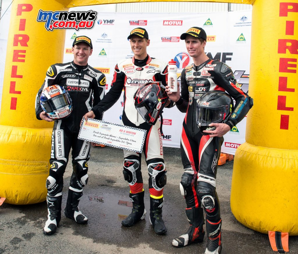 Troy Herfoss takes crucial ASBK Superpole point ahead of tomorrow's 2 x 17 lap Superbike races that will decide the 2016 ASBK Champion