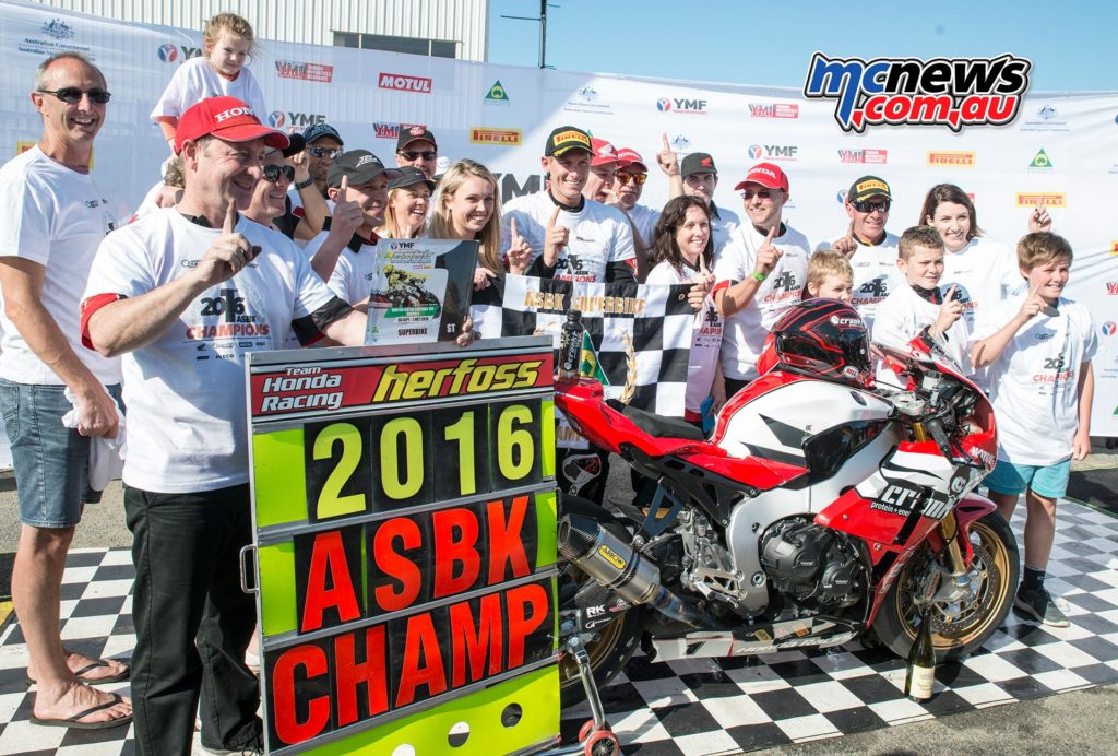 Troy Herfoss - 2016 ASBK Champion