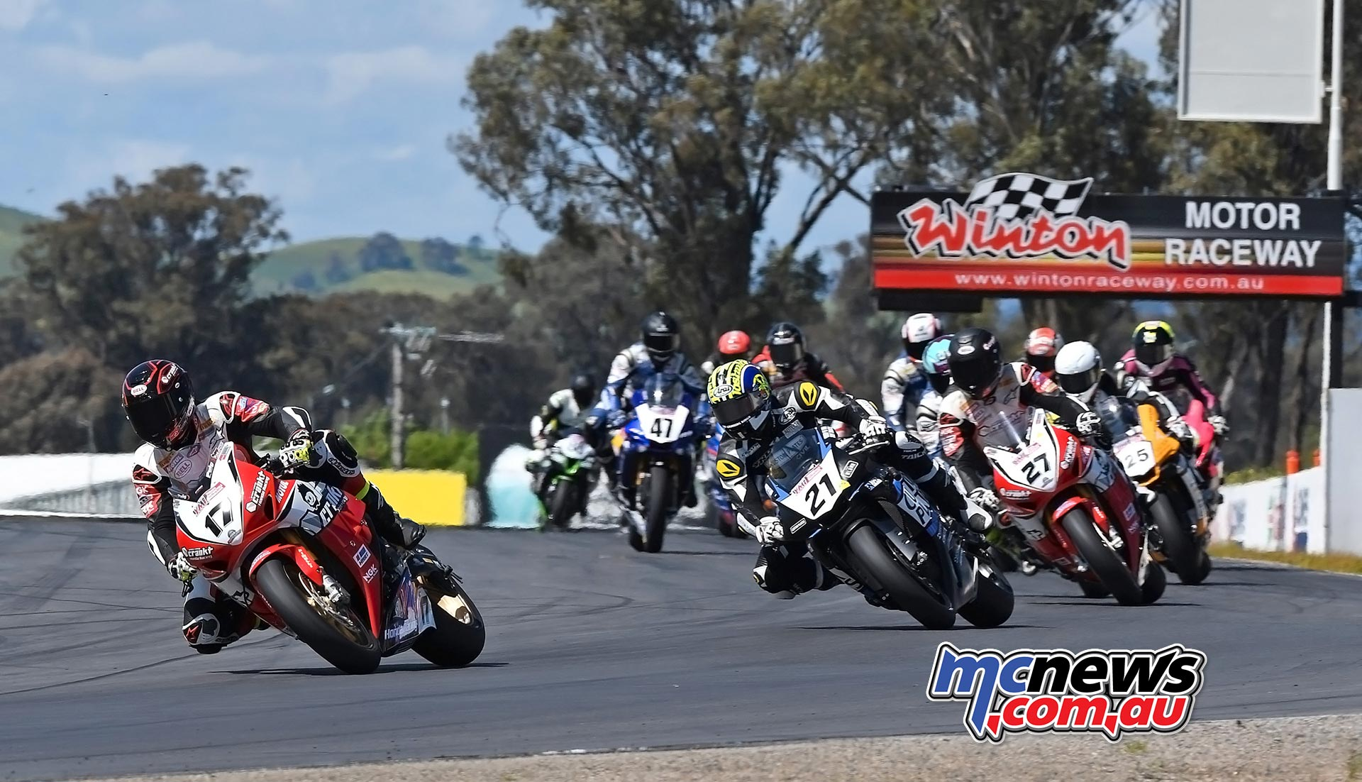 ASBK 2016 - Winton Superbike Race One - Image by Keith Muir