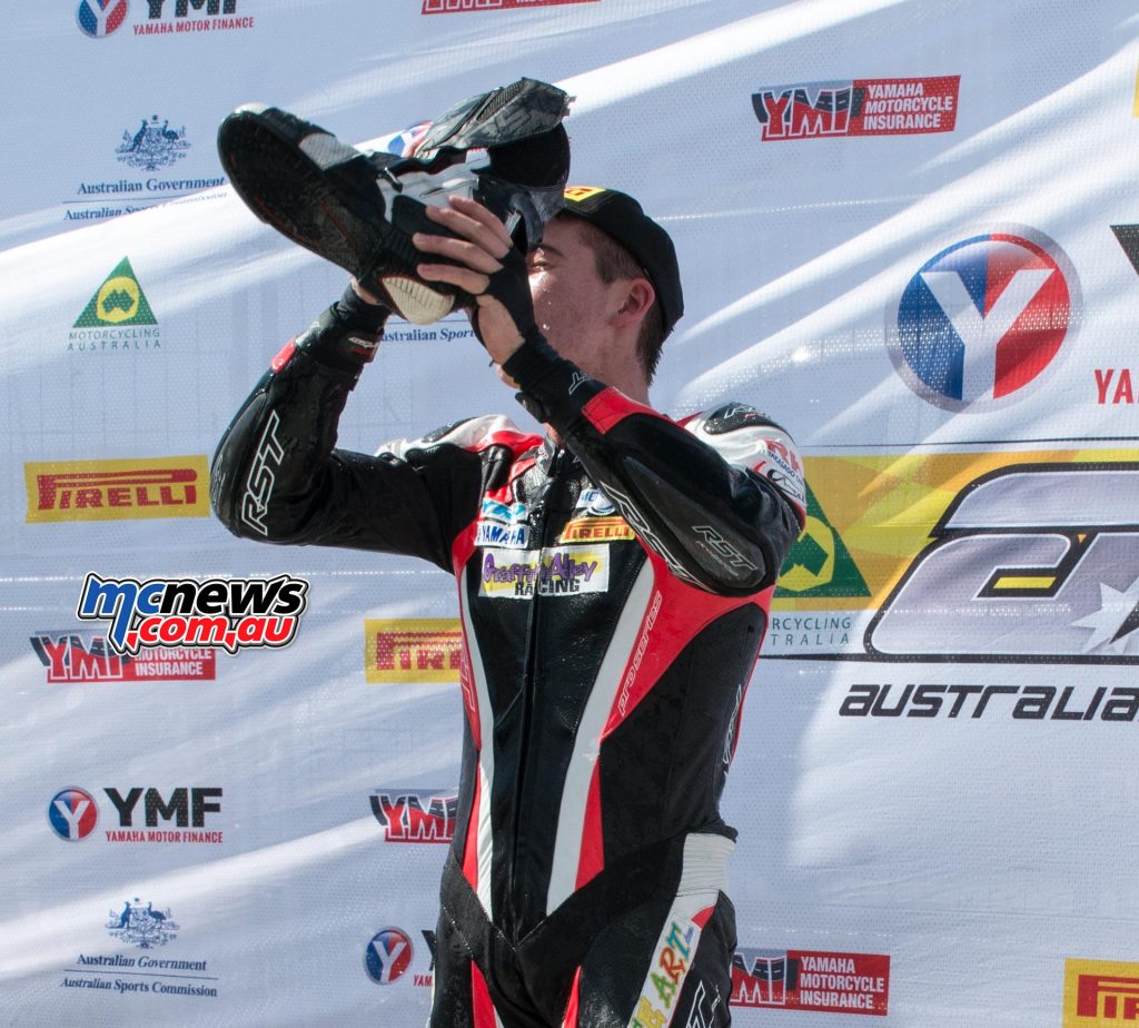 Troy Guenther - 2016 Motul ASBK Supersport Champion
