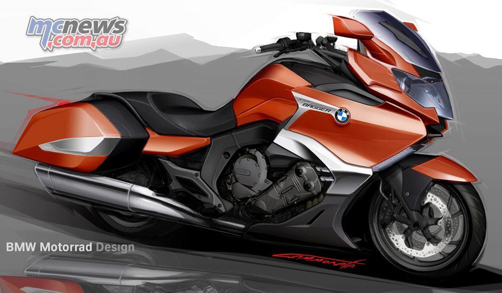 BMW Motorrad Concept Bikes - Concept 101 concept study