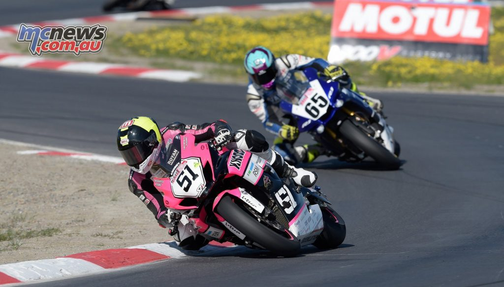 Brayden Elliot took his best result of the season with a podium at Winton and sixth overall in the ASBK Championship. Image: Steve Thibou/Motopix