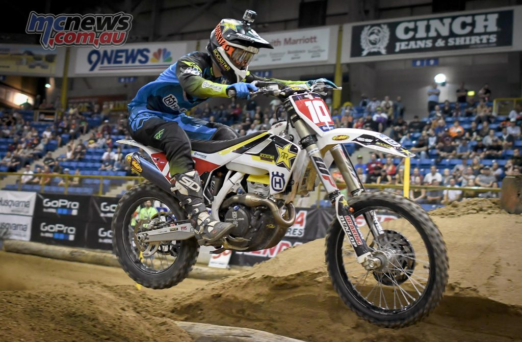 Colton Haaker took his fourth win this season at Denver Endurocross