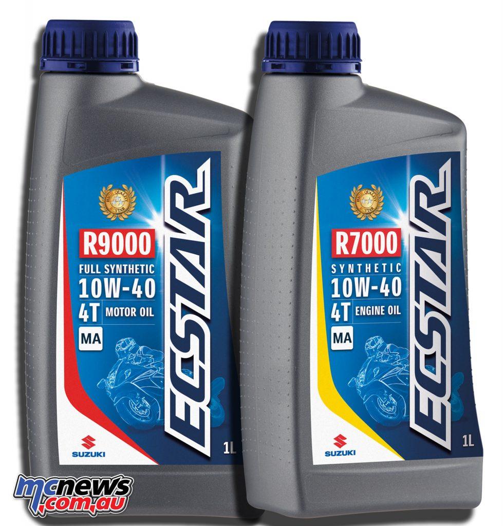 ECSTAR Suzuki R9000 & R7000 - four-stroke engine oil 1L