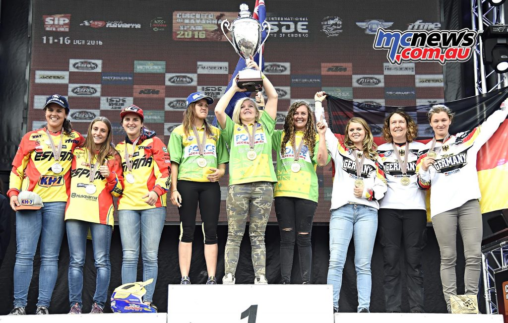 Women Trophy ISDE 2016 - Image by Jake Miller
