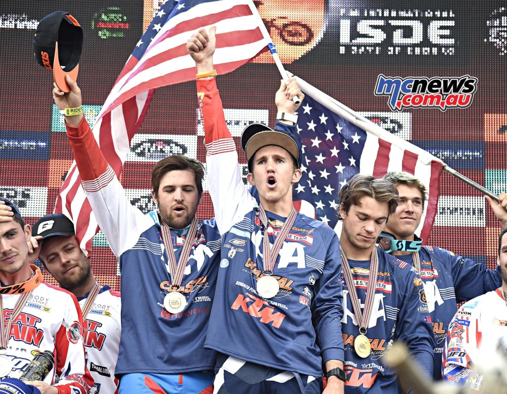 World Trophy ISDE 2016 - Image by Jake Miller