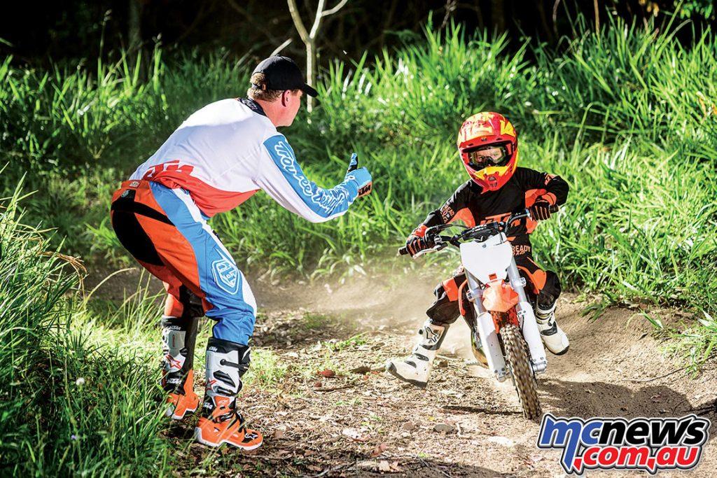 KTM Sportminicycle range
